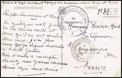 histoire postale de la 1938 juillet 1940