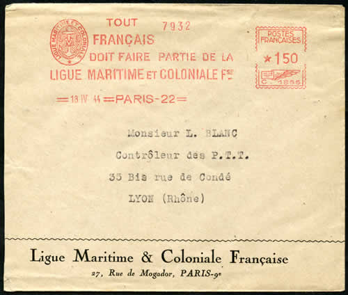 EMA Ligue Maritime et Coloniale