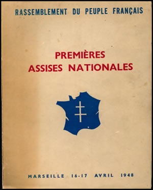 Assises RPF avril 1947