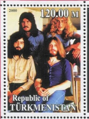Groupe Led zeppelin