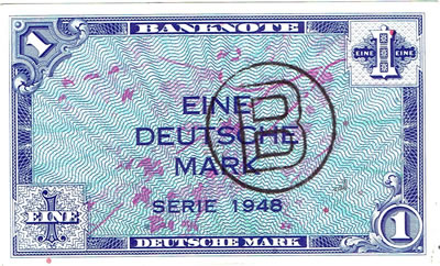 Billet de Berlin en Mark-Ouest