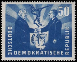 DDR-Pologne accord Oder - Neisse