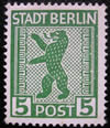 Stadt Berlin Ours 1945
