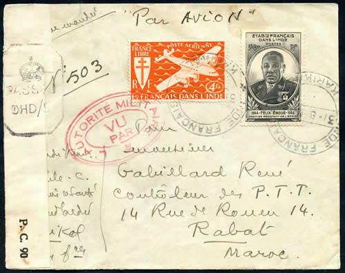 Les comptoirs en inde 1945 1950 - Comptoirs francais en inde ...