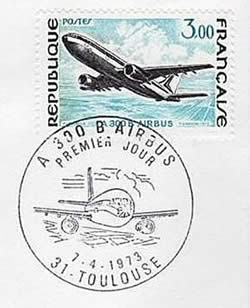 FDC timbre Airbus