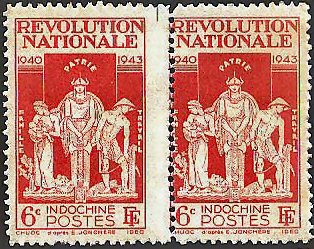 Timbre Révolution Nationale