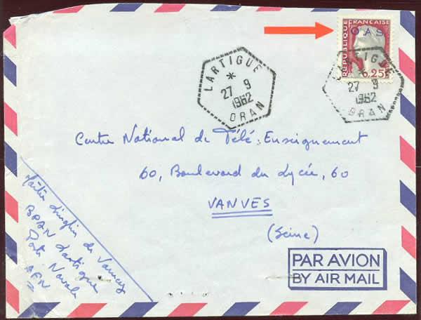 philatelie algerie vers les accords d u0026 39 evian  1